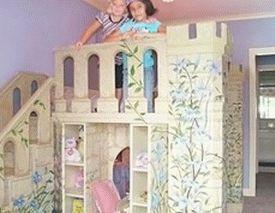 комната принцессы детская комната для девочки 07