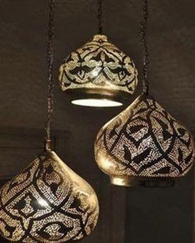 лампа в марокканском стиле 1