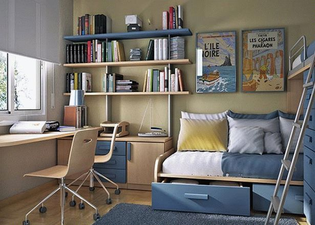 маленькая детская комната фото 30