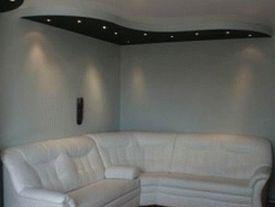 многоуровневые потолки фото 9