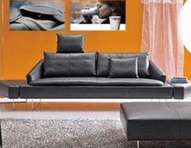 оранжевые стены фото 05