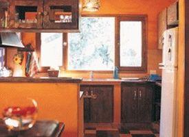 оранжевые стены фото 12