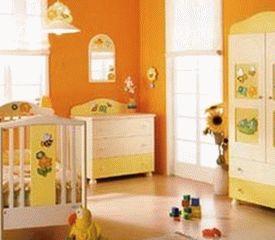 оранжевые стены фото 20