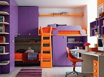 оранжевый и фиолетовый 06