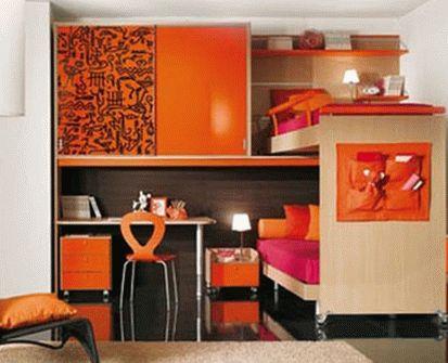 розовый и оранжевый 12