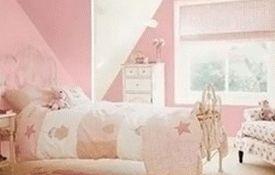 розовый цвет в детской комнате для девочки 002