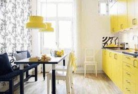 сочетание желтого и серого 17