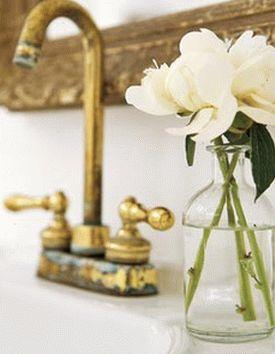 цветы в ванной комнате 23
