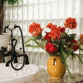 цветы в ванной комнате 29