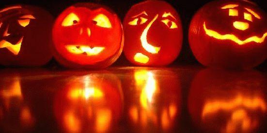 тыква на хэллоуин 12