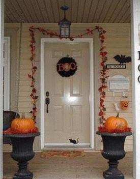 украшение дома к хэллоуину 10