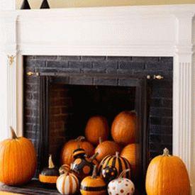 украшение дома к хэллоуину 14