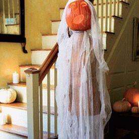 украшение дома к хэллоуину 2