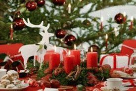 украшение новогоднего стола фото 006