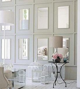 зеркальная стена зеркальная плитка зеркальные панели 17