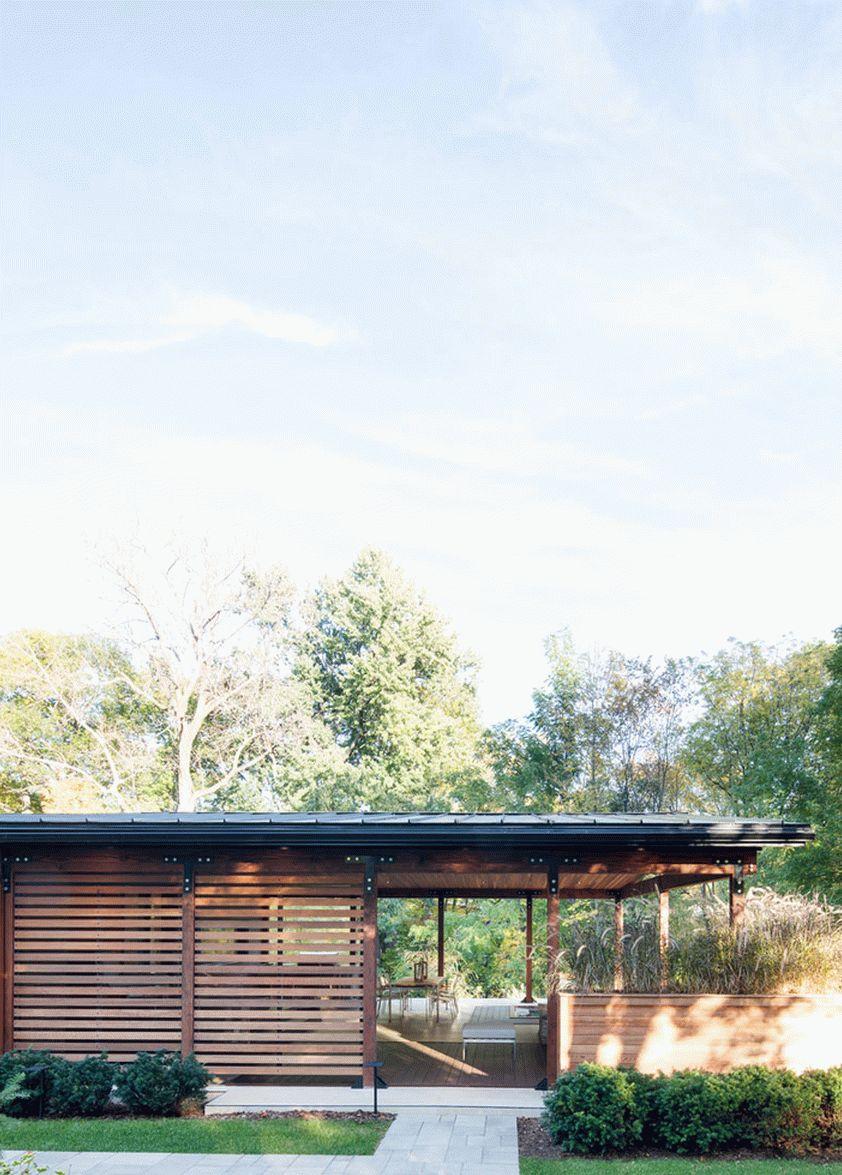Дом 60-х годов модернизируется, не теряя своей изюминки