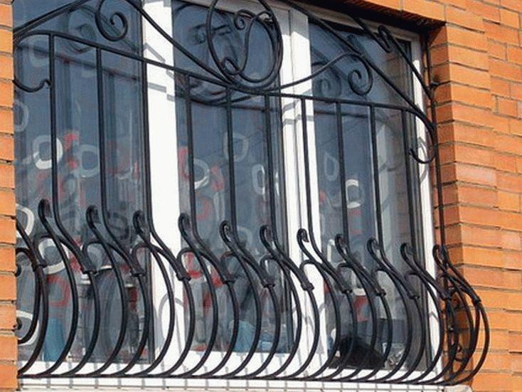 Вариант объемных решеток на окна