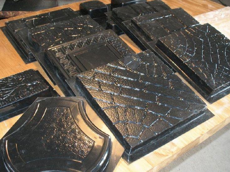 Формы для изготовления тротуарной плитки