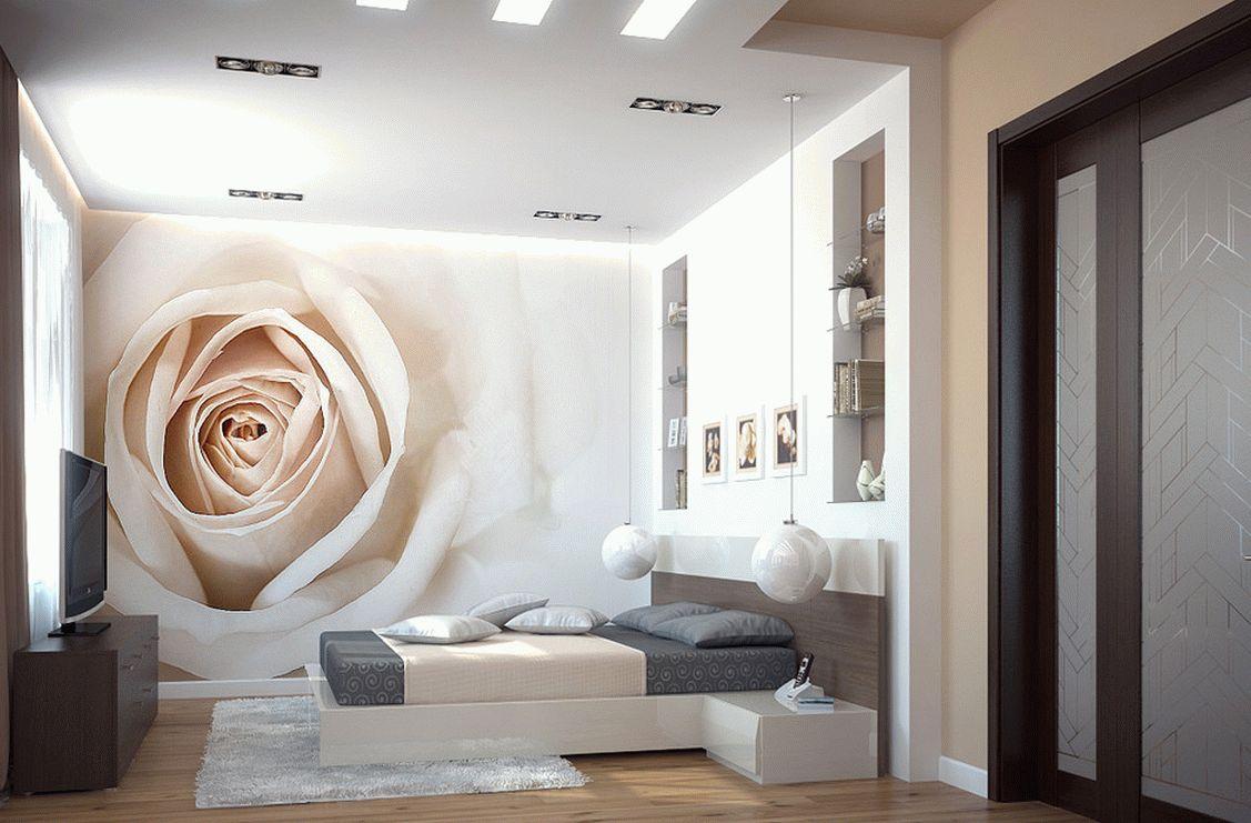Дизайн спальни пол