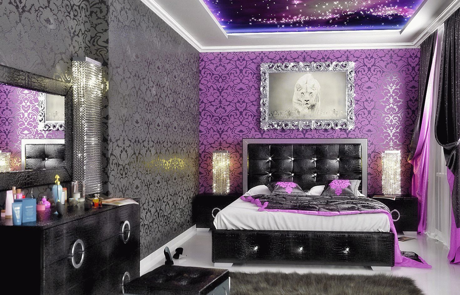 Дизайн спальни интрьер