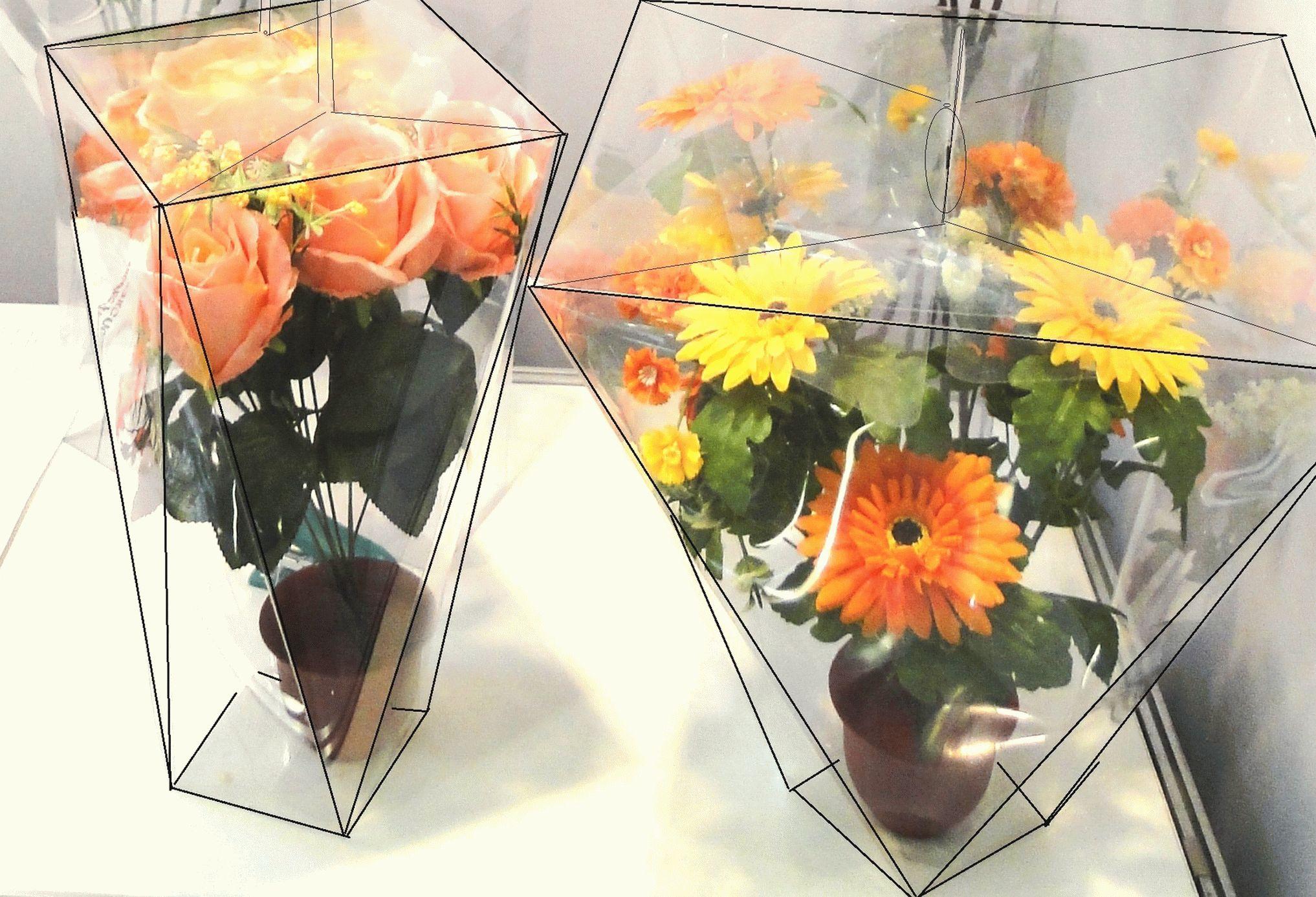 Упаковка для цветов