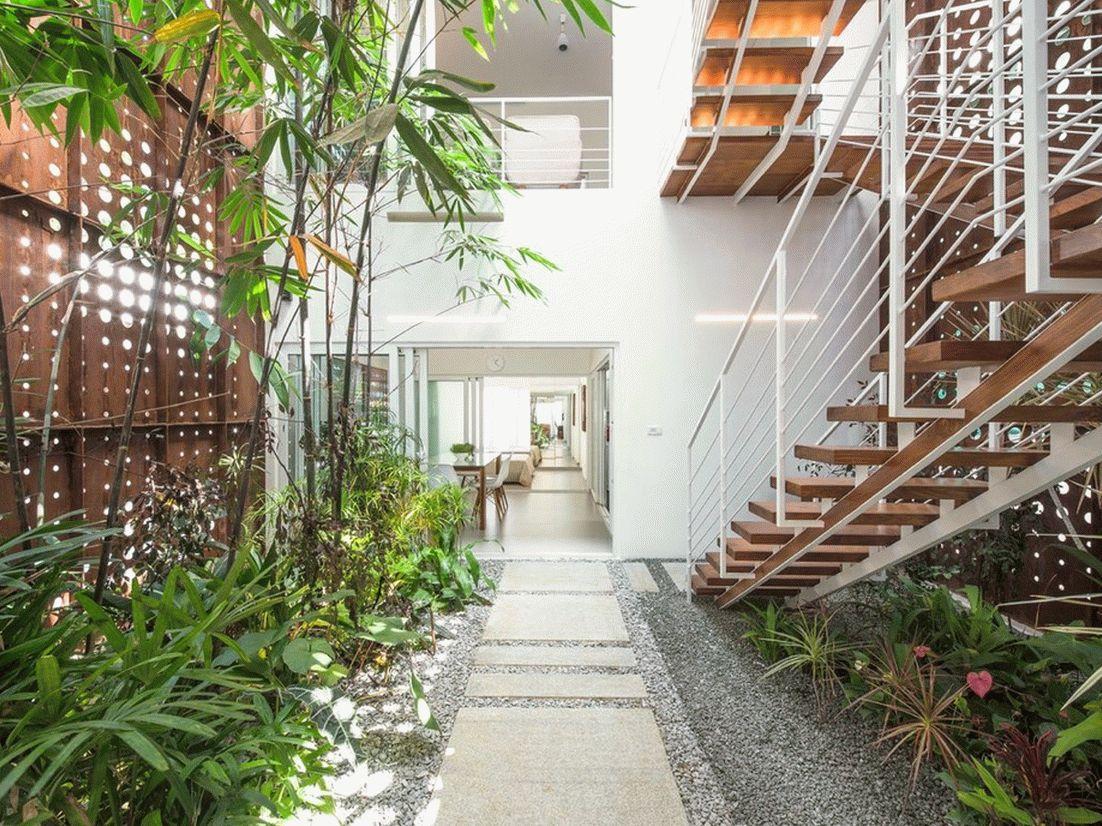 великолепный дом с крытым атриумом5