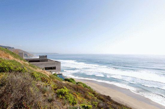 уединенный особняк на побережье чили1