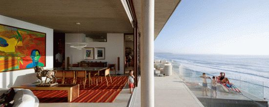 уединенный особняк на побережье чили7