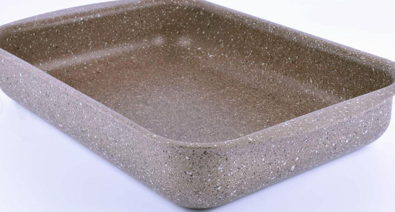 Каменное покрытие сковороды