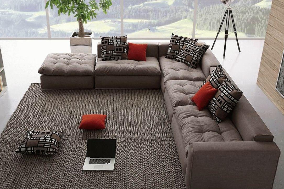 Модульный угловой диван