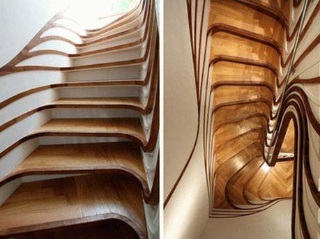 необычные современные лестницы22