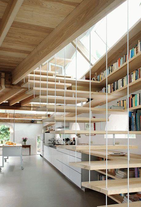 необычные современные лестницы3