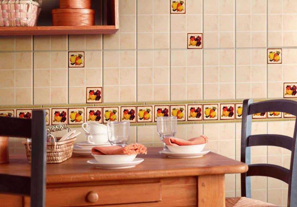 Кафельная плитка для фартука этна