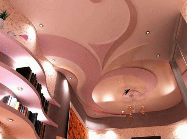 Фото потолков из гипсокартона