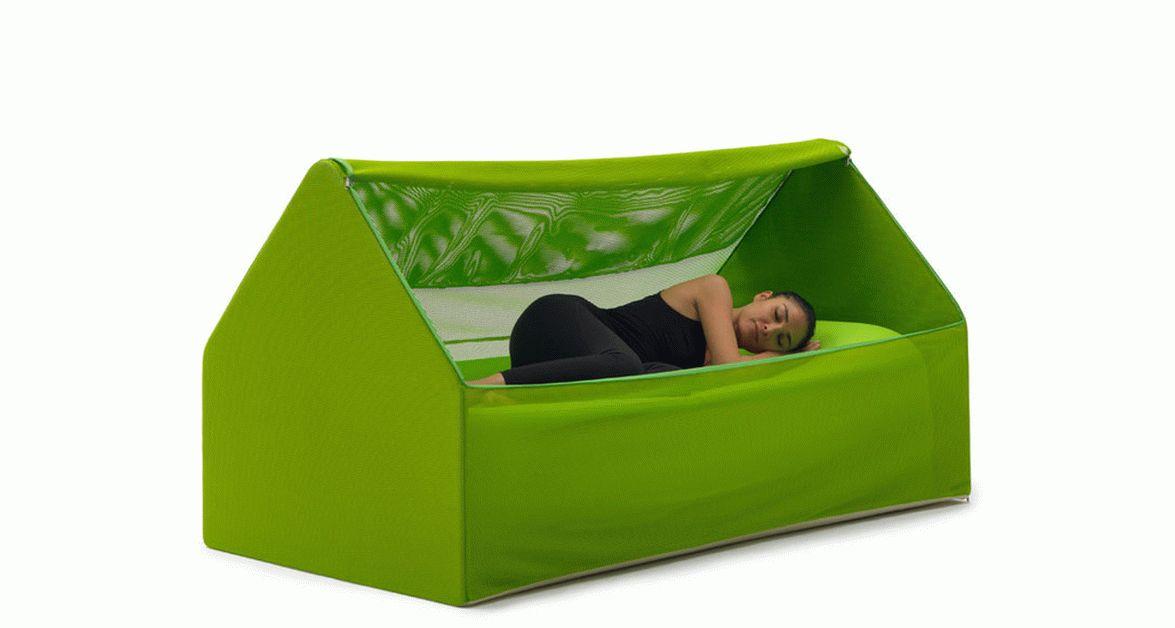 надувная кровать в форме1