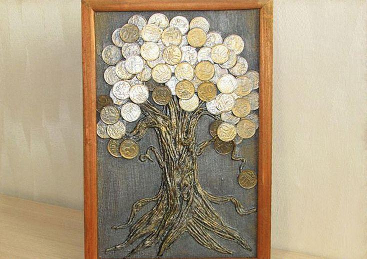 Поделки из монет помогают привлечь материальное благополучие