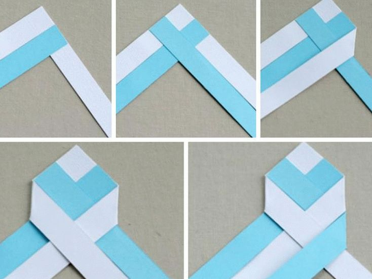 Поэтапное изготовление закладки для книг своими руками