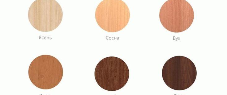 Породы дерева для создания мебели из массива