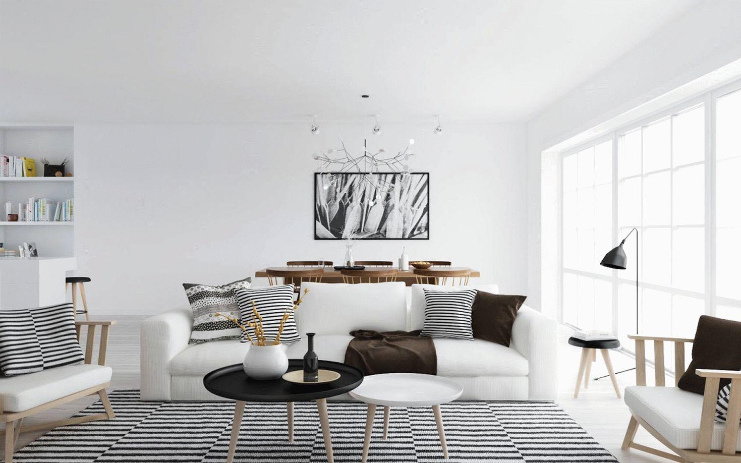 Дизайн квартиры-студии площадью
