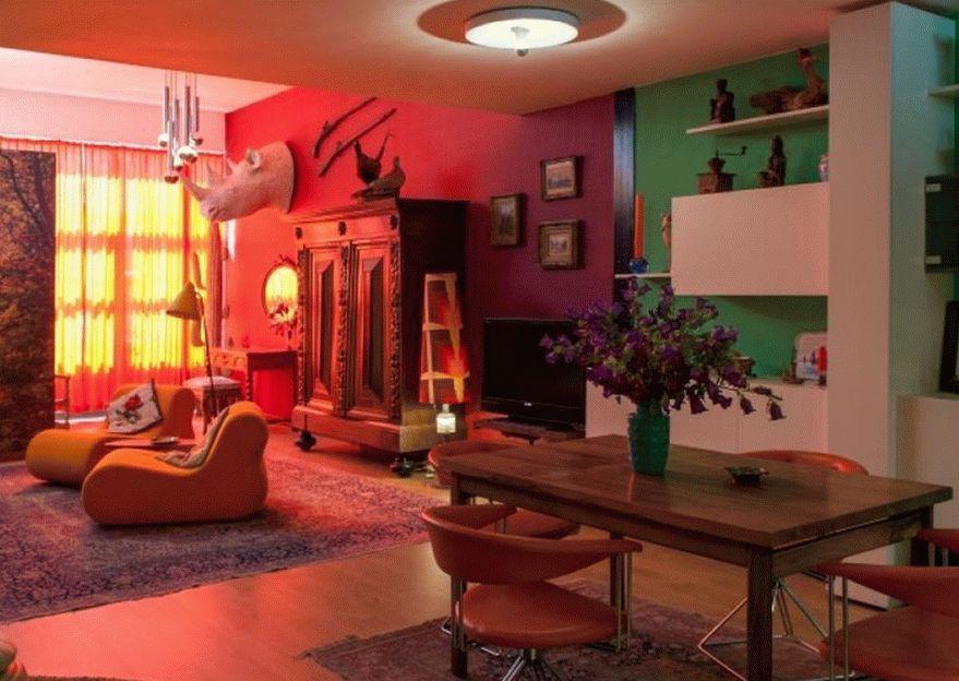 Эклектичная квартира-студия в Амстердаме