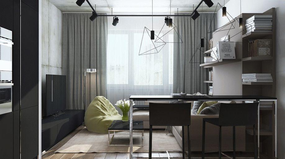 При создании интерьера студии важно сочетать оригинальный подход и правильно организованное пространство