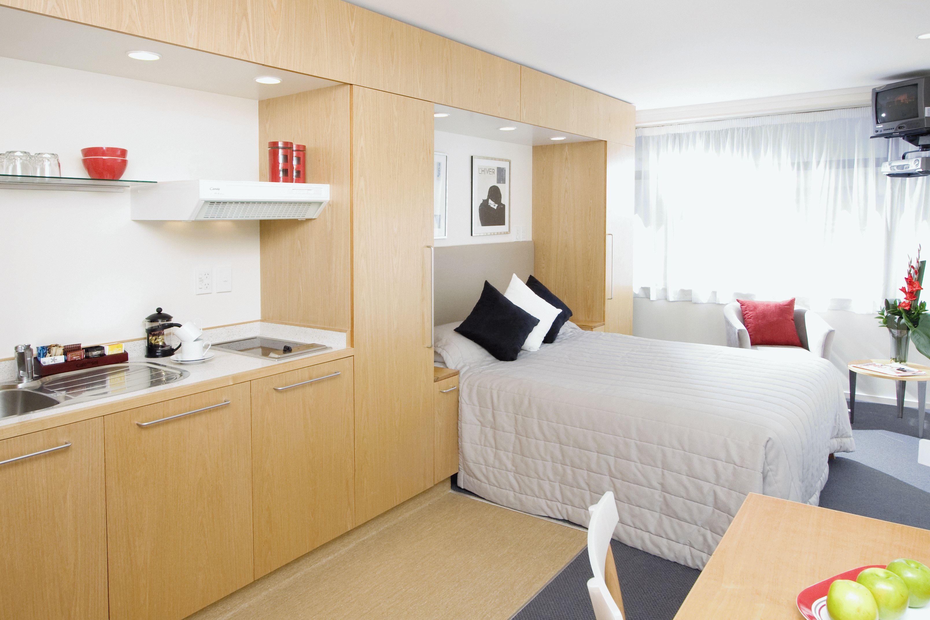 Складная кровать, убираемая в шкаф