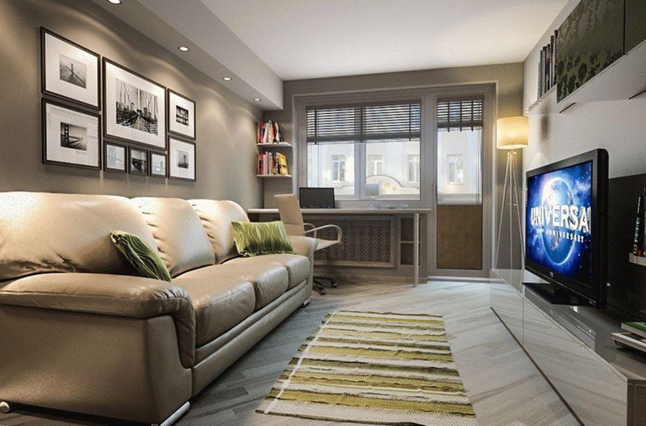 Варианты дизайна зала для отделки квартиры