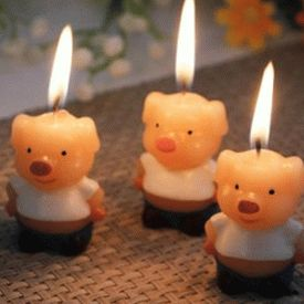 pig-candles