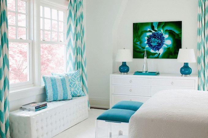 Светлые тона в интерьере современной спальни