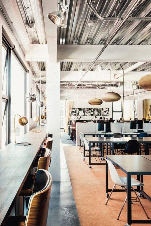 Cloud Room: современный коворкинг-центр в Сиэтле