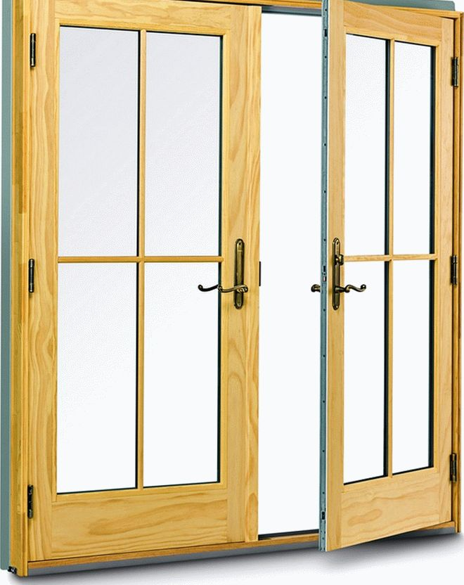 Межкомнатные распашные двери (4)