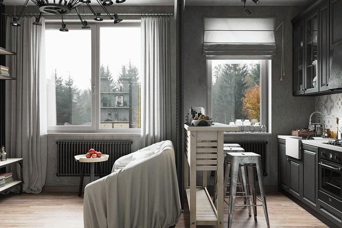 Изысканный стиль в интерьере маленькой квартиры