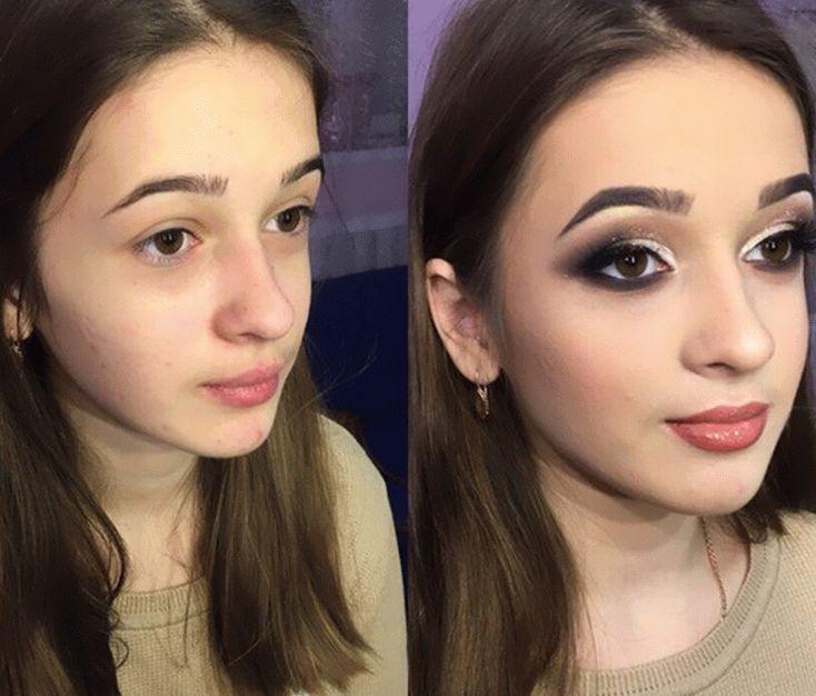 Вызывающий макияж