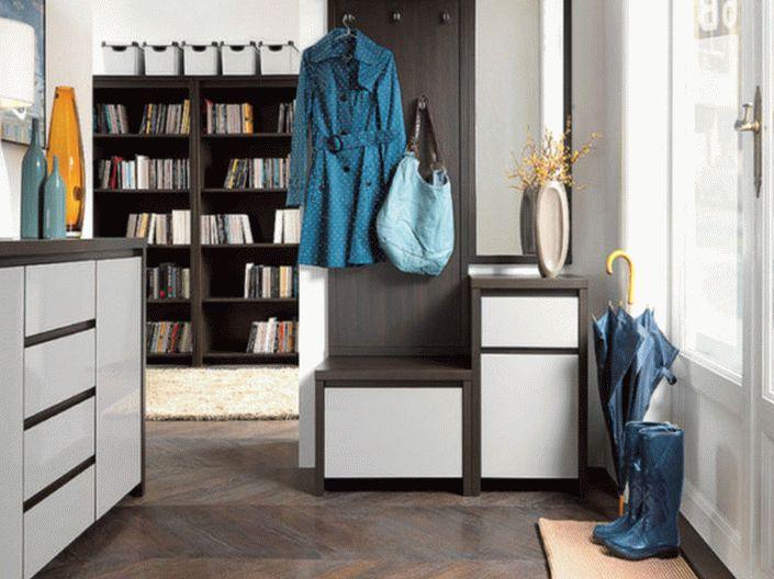 Современная мебель в прихожей